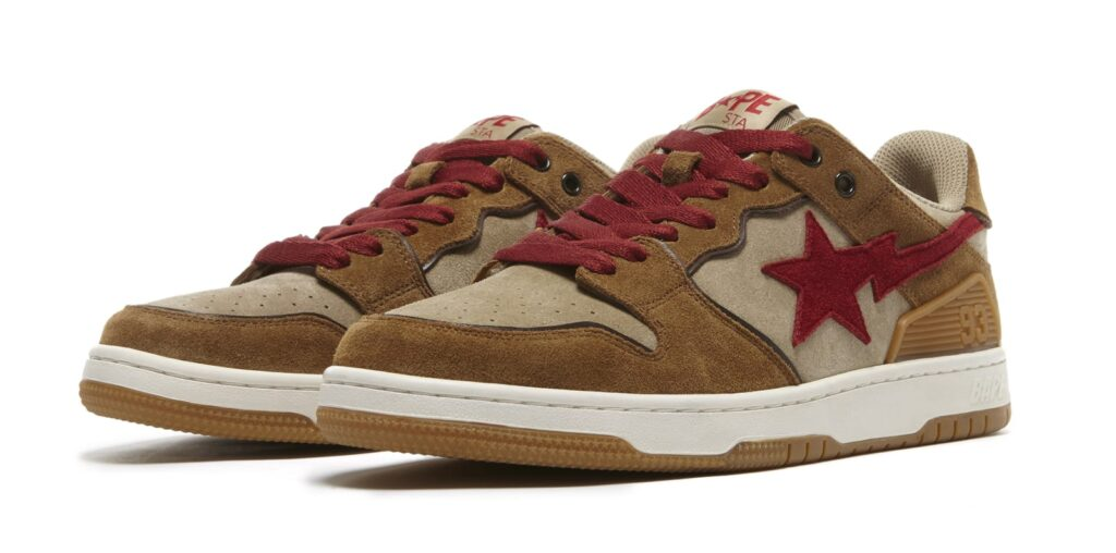 bape-sk8-sta-wheat-and-red-pair