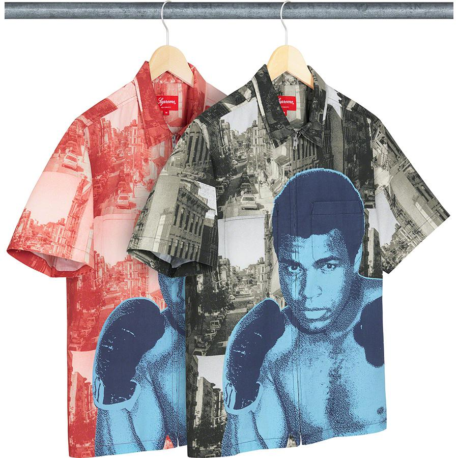 Muhammad Ali Zip Up S:S Shirt