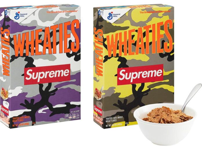 Supreme®:Wheaties® (1 Box)
