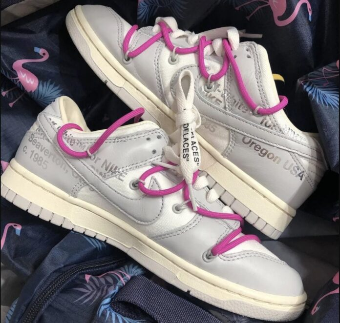 off-white-nike-dunk-the-50-sail-grey-pink