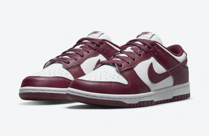 Nike-Dunk-Low-Bordeaux-pair-laterla