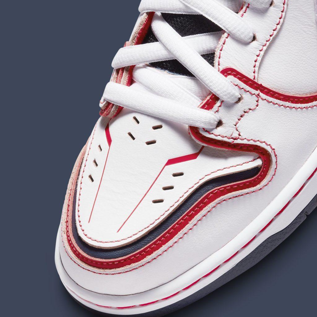 nike-sb-dunk-high-gundam-white-release-date-dh7717-100-toe-detail